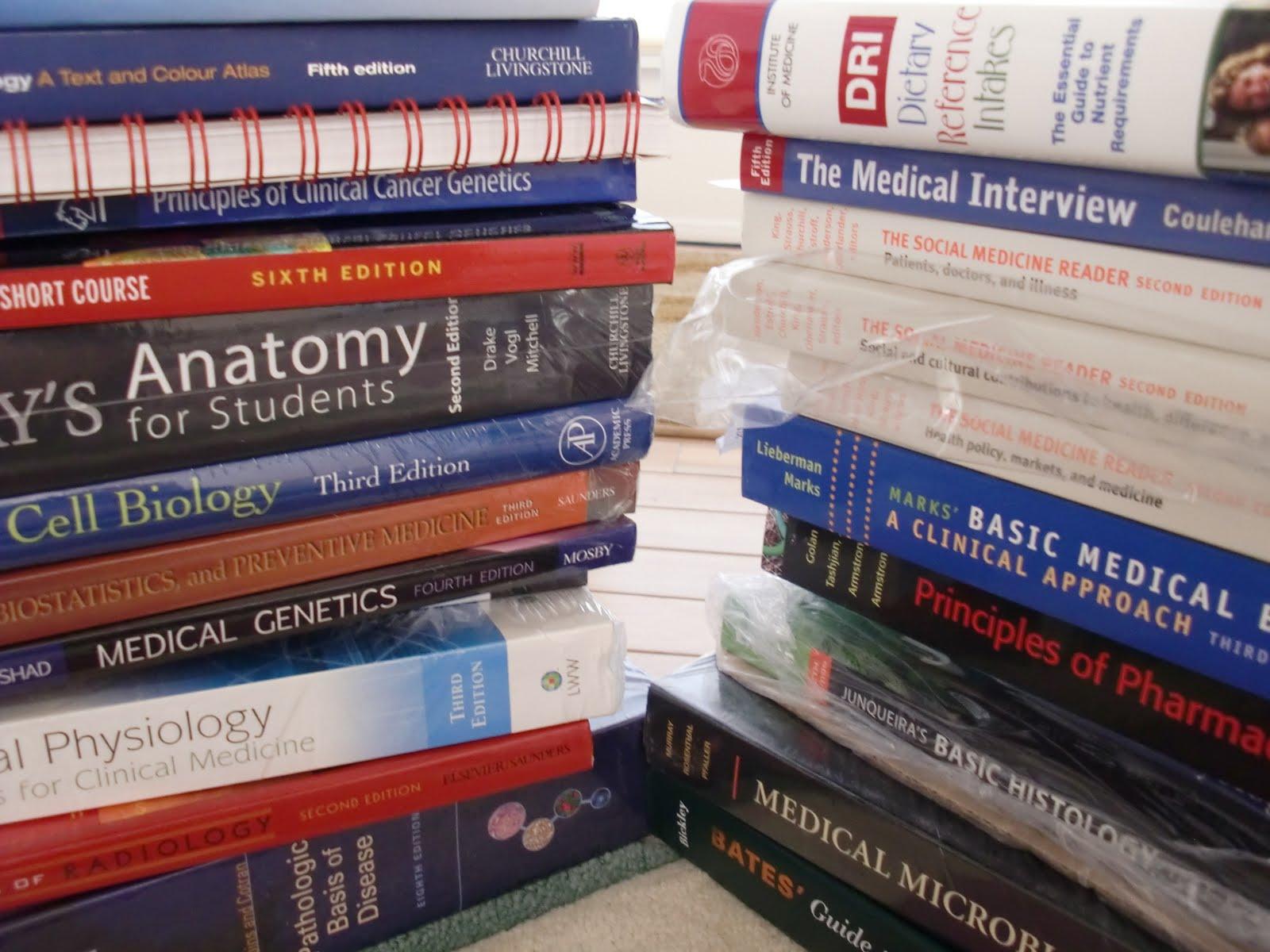 Первый курс медицинского